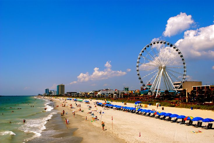 Local Hotspot: the 2nd largest ferris wheel in North America. It has some serious height.