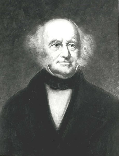 Martin Van Buren (December 5, 1782 – July 24, 1862) was the eighth President of the United States (1837–1841), the eighth Vice President, and the tenth Secretary of State under Andrew Jackson. He was a key organizer of the Democratic Party and a dominant figure in the Second Party System. He was the first president not of British or Irish descent, and the first to have been born a United States citizen, since all of his predecessors were born British subjects before the American Revolution.