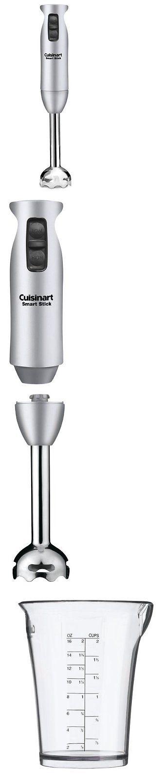 Blenders Handheld 133703: Cuisinart Smart Stick Hand Held Blender Mixer, Brushed Chrome Free Shipping, New -> BUY IT NOW ONLY: $34.79 on eBay!