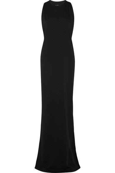 Rick Owens - Cotton-jersey Maxi Dress - Black - xx large