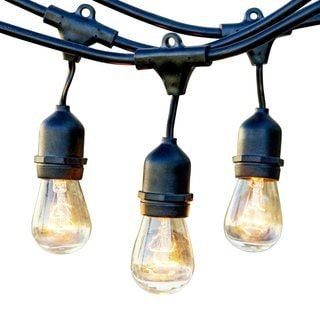 Shop for Outdoor Weatherproof Commercial Grade Lights with Hanging Sockets – WeatherTite Technology – . Get free delivery at Overstock.com - Your Online Garden