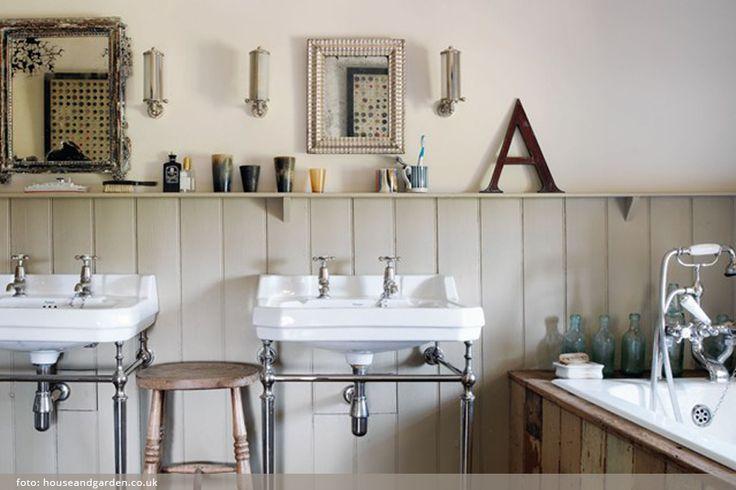 Pusťte dřevo do koupelny