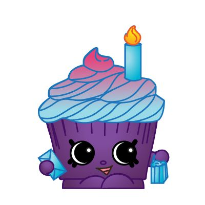 Shopkins Series  Birthday Cake