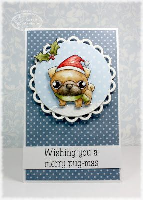 TSG 235 - Christmas Critters - There She goes Stamps
