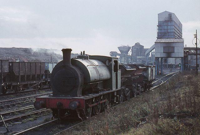 syks - ncb he 0-6-0st arthur shunting markham main colliery 70 JL by johnmightycat1, on Flickr