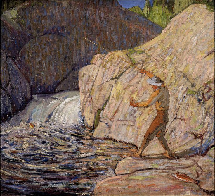 Tom Thomson Catalogue Raisonné | The Fisherman, Winter 1916–17 (1916-1917.14)…