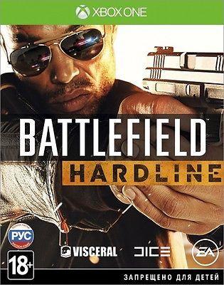 *NEW* BATTLEFIELD HARDLINE XBOX ONE GAME RUSSIAN VERSION 18+