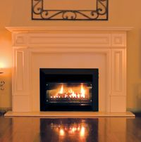 Real Flame Pyrotech Gas Fireplace