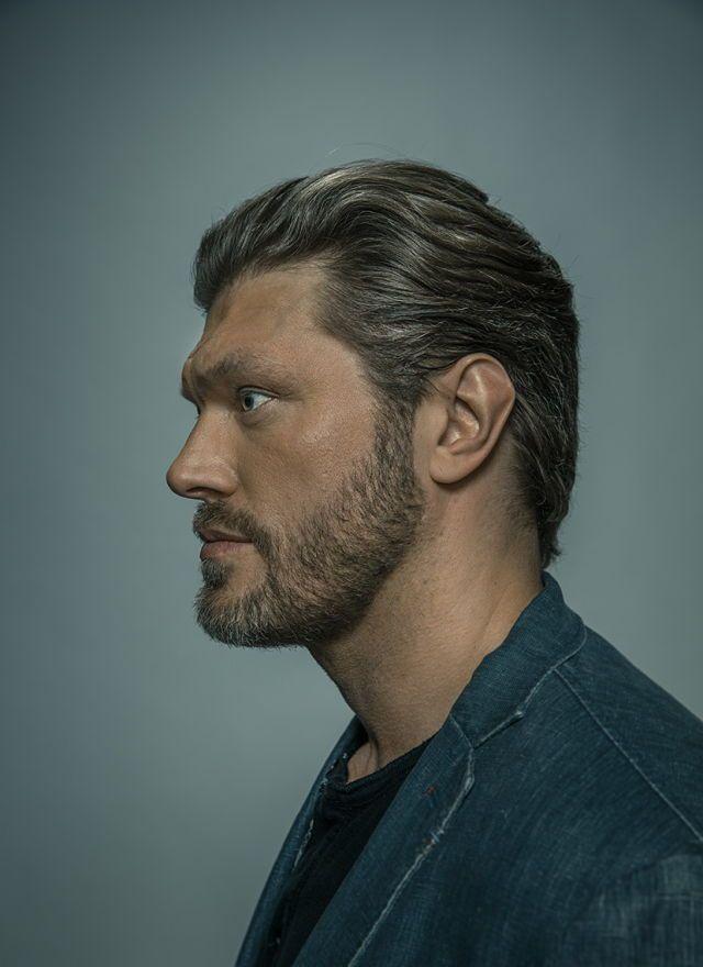 "Portraits of former #WWE superstar and actor Adam ""Edge"" Copeland."