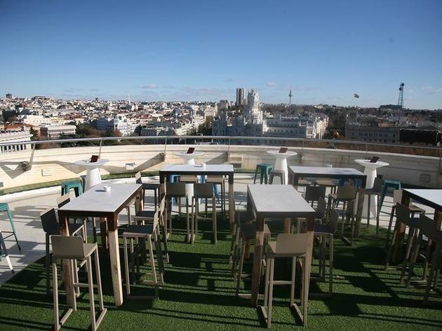Círculo de Bellas Artes - rooftop bar