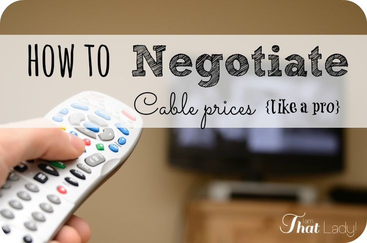 Did you know that cable prices are actually pretty easy to negotiate? As long as you know how. Here are my tips on how to negotiate cable prices like a pro