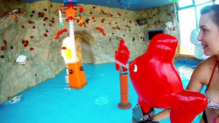 Interactive underwater world-themed spray park awaits the little ones in Bükfürdő