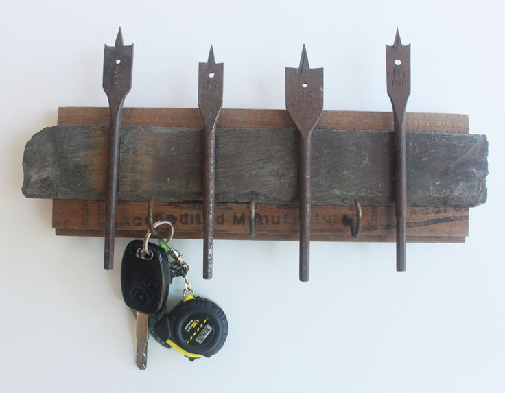 A unique rustic key holder.