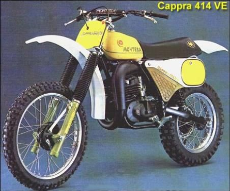 Montesa CAPPRA VE 414 cc. 1979