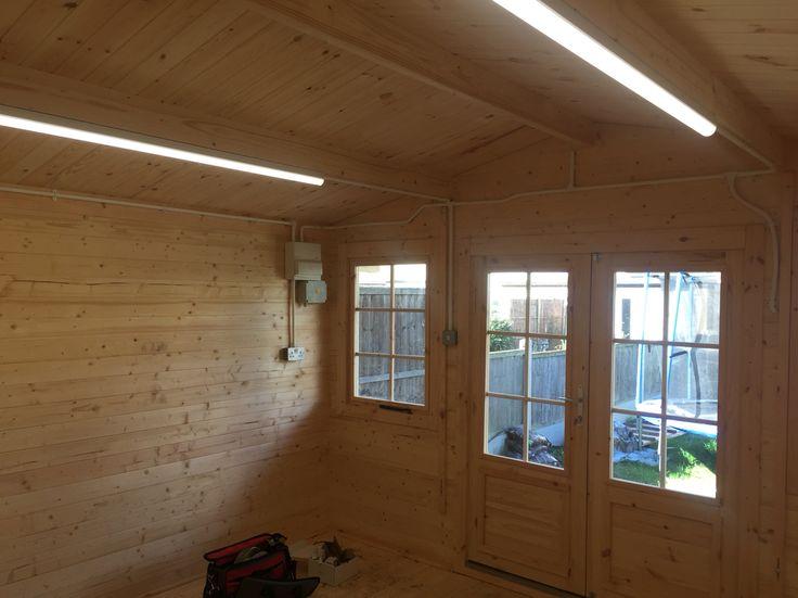 9 best log cabin installation images on pinterest log cabin homes lighting in log cabin workwithnaturefo