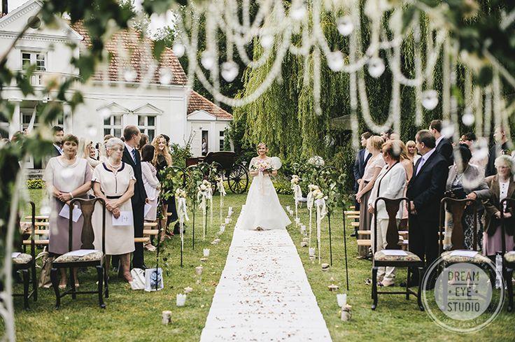 Ślub w plenerze - dekoracje i organizacja: Oh Happy Day!