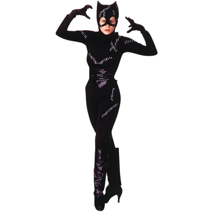 Cartoon Catwoman Costume : Get It On Fancy Dress Superstore, Fancy Dress & Accessories For The Whole Family. http://www.getiton-fancydress.co.uk/superheros/batmanrobin/cartooncatwomancostume#.Uuubyfsry10