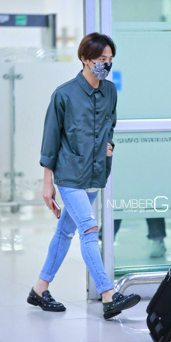 G-Dragon @ Airport fashion 140721