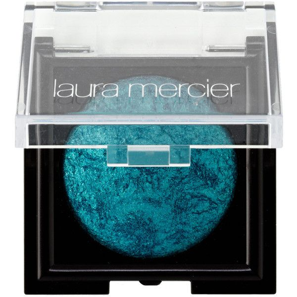 Laura Mercier Baked Eyeshadow in Lagoon found on Polyvore