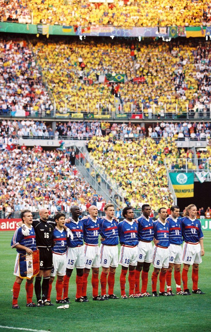 France National Team Starting Line-up 1998 World Cup Final