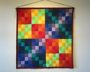 Finite field: crochet representation of a finite field