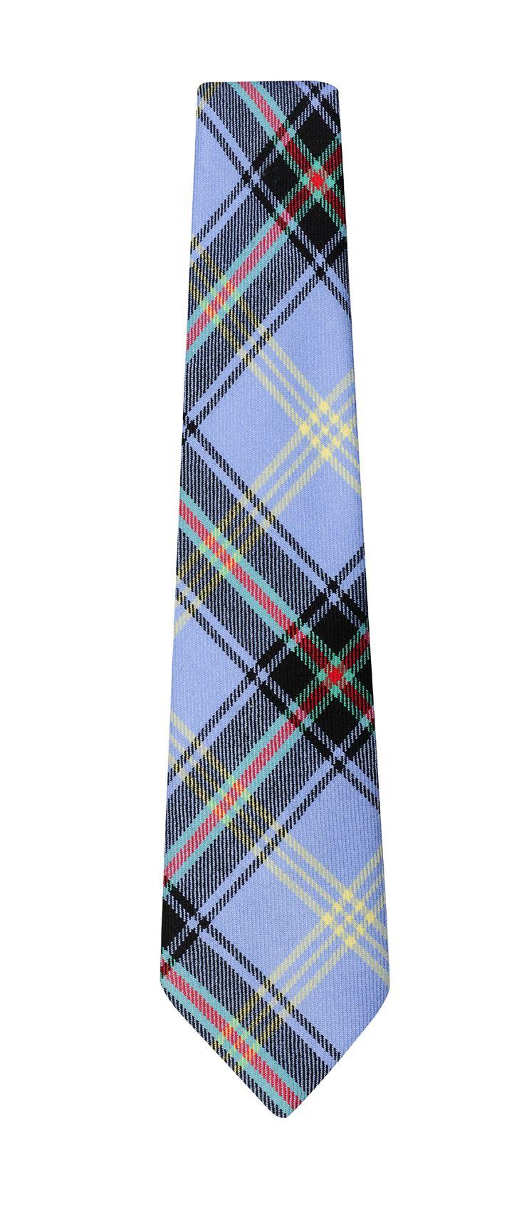 Bell of the Borders wool tartan tie.