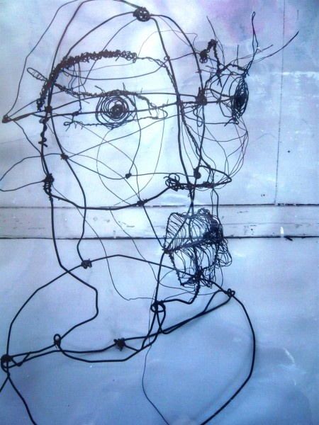 Wire Portrait Sarah Greaves