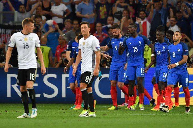 Ils l'ont fait. La France a battu l'Allemagne 2 buts à 0, ce jeudi au stade Vélodrome, et obtenu son billet pour la finale de l'Euro. Les Bleus...
