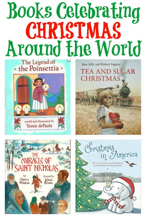 Christmas Around the World Picture Books for kids
