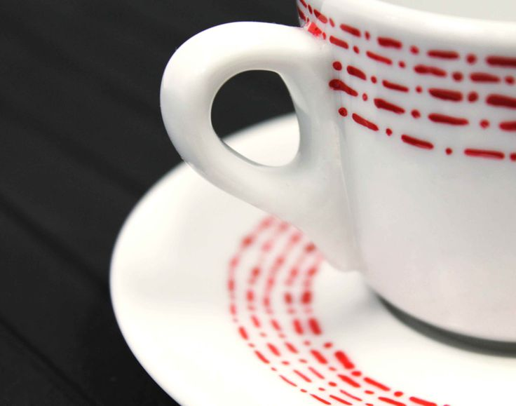 #Visual #IDP #Decoration #Ceramic #Coffee Cup #Handmade #BenedettaSimone