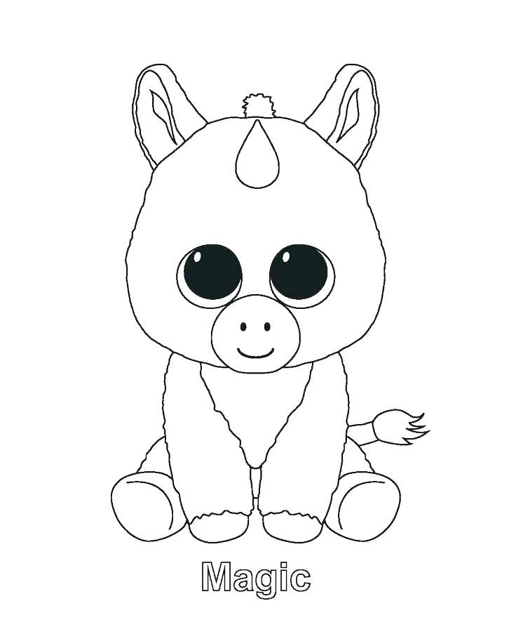 - Hurry Printable Unicorn Coloring Pages Pictures To Color Packed With #17796  Baby Unicorn, Beanie Boo Birthdays, Pictures Of Beanie Boos