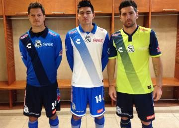 Puebla FC 2015 Charly Home, Away and Third Jerseys