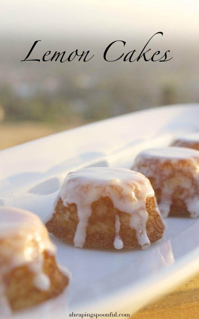 Game of Thrones Lemon Cakes. Sansa Stark's favorite.