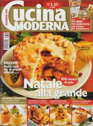 Cucina moderna dicembre 2003 Lidia