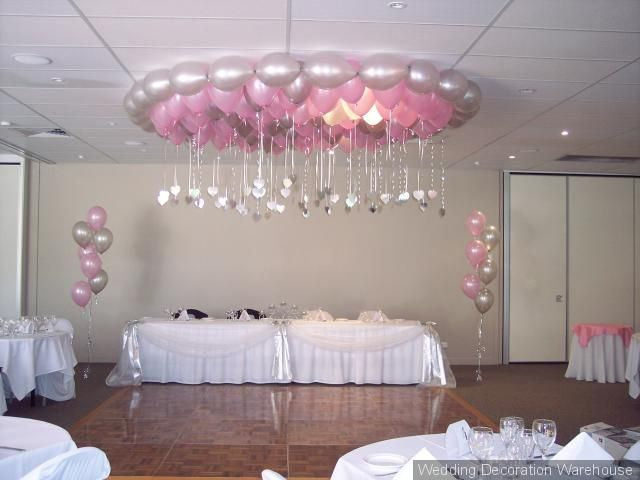 Easy diy quinceanera balloon decorations for Balloon decoration ideas for a quinceanera