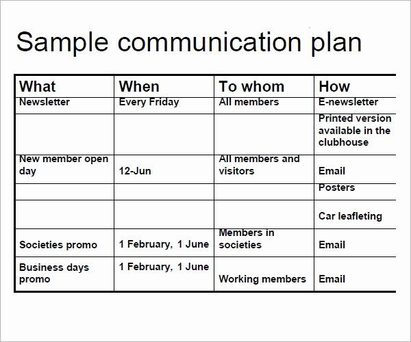Strategic Communications Plan Template Elegant 16 Samples Of Munication Plan Temp Communication Plan Template Communications Plan Marketing Communications Plan