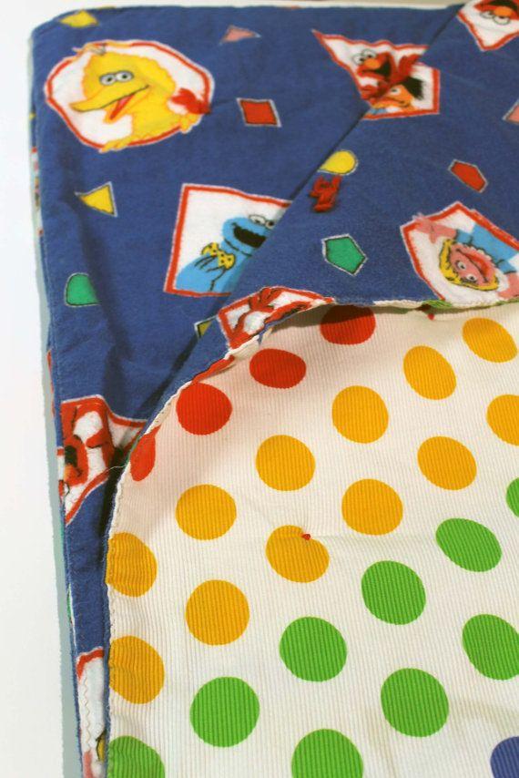 Sesame Street Baby Quilt Blanket