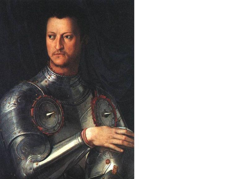 Cosimi i de medici portrait shows the glorification of