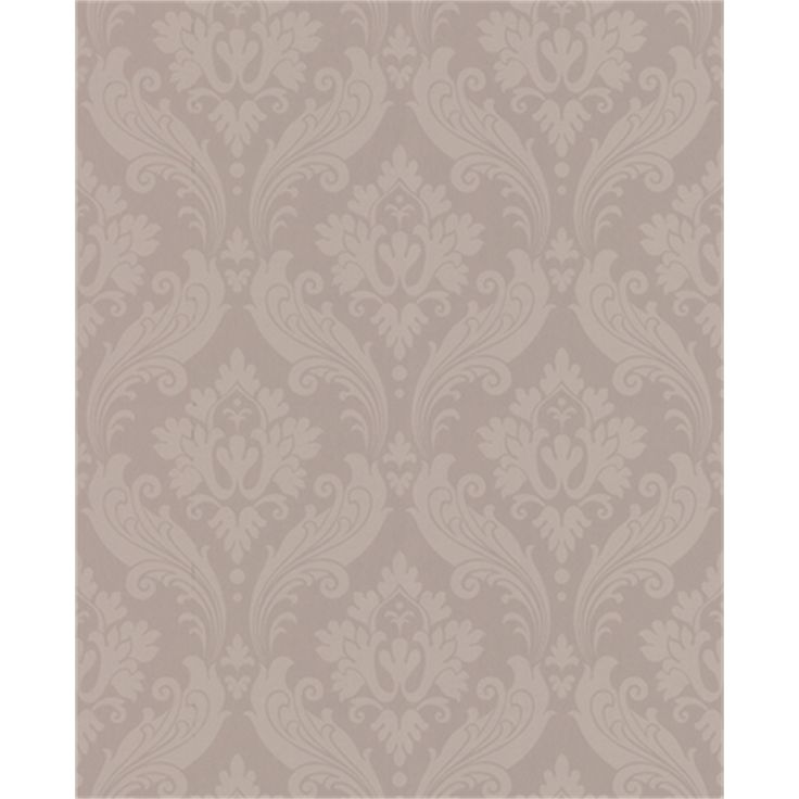 Kelly Hoppen 52cm x 10m Taupe Vintage Flock Wallpaper I/N 1661163 | Bunnings Warehouse (idea for staircase)