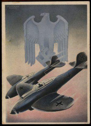Click to view 3rd Reich Luftwaffe Die Deutsche Wehrmacht Gottfried Klein Hoffmann