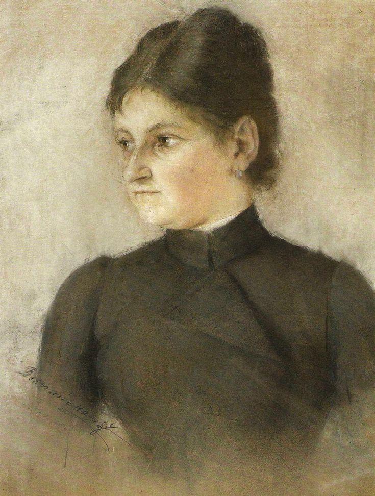 Portret Izy Boznańskiej, siostry Olgi