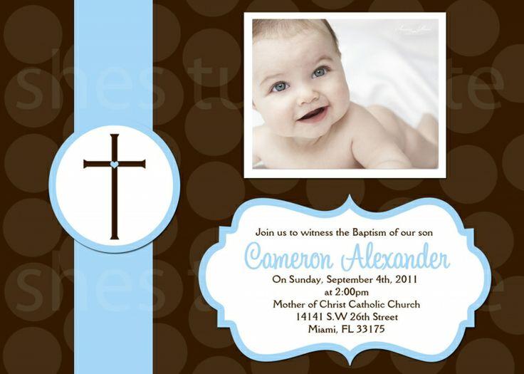 8 best baptism invvitation card images on pinterest christening baptism invitation template new invitation cards stopboris Choice Image