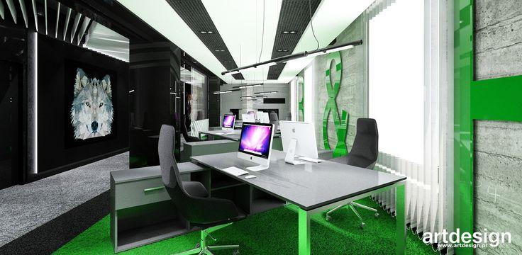 ERMAX   Wnętrza biura