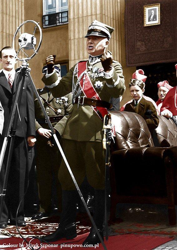 02.06.1936 Obchody w Katowicach w 15 rocznicę wybuchu III Powstania Śląskiego.km
