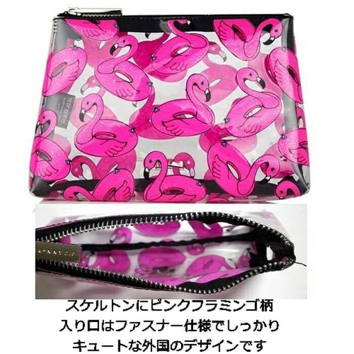 skinnydip スキニーディップ バッグ FLAMINGO BAG ピンク フラミンゴ 柄 ポーチ 透明 #ポーチ #bag  #セレクトショップレトワールボーテ #Facebookページ で毎日商品更新中です  https://www.facebook.com/LEtoileBeaute  #楽天 http://item.rakuten.co.jp/letoilebeaute/flamingo-float-make-up-bag/  #レトワールボーテ #fashion #コーデ #rakuten #フラミンゴ #シースルー #バッグ #化粧 #スキニーディップ #プレゼント #ピンク #可愛い #お洒落