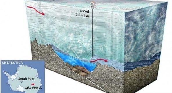 """В подлёдном озере """"Восток"""" в Антарктиде нашли неизвестную бактерию  http://nlo-mir.ru/newnews/47945-neizvestnuju-bakteriju.html"""