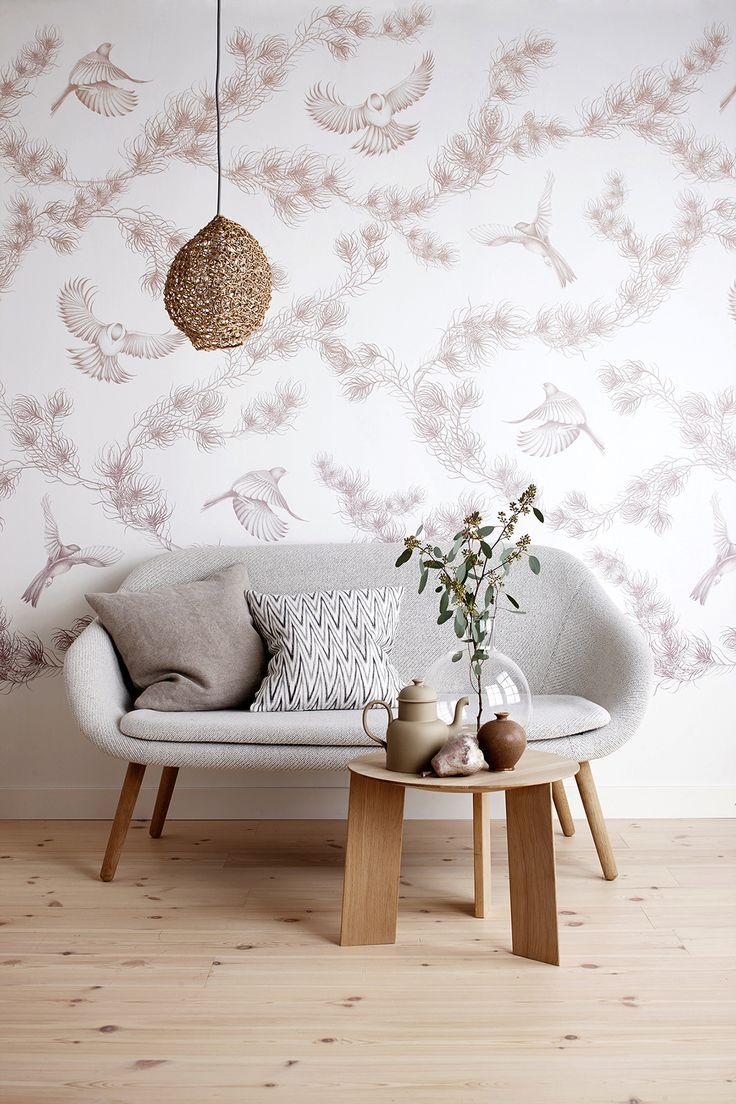 Wallpaper by Mira Nameth for Photowall.