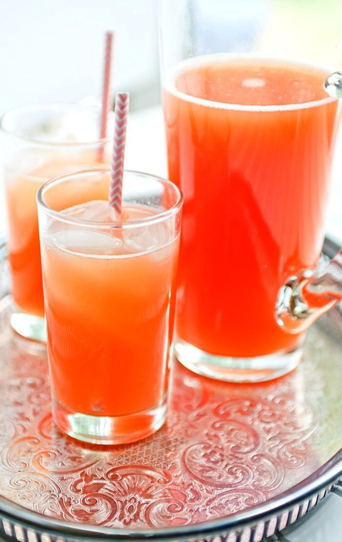 Tropical Fruit Spritzers
