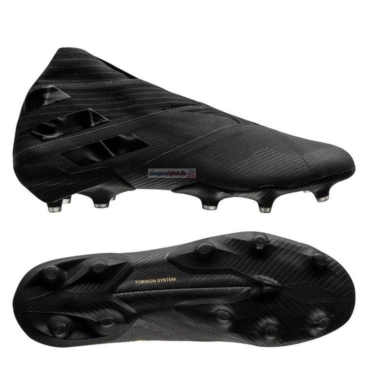 Adidas Nemeziz 19 FG/AG Noir   Chaussures de football, Chaussure ...