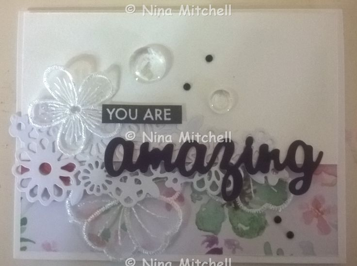 NM cards - Uniquely Creative Kit Club March 2017 - Wildflower Collection 4A